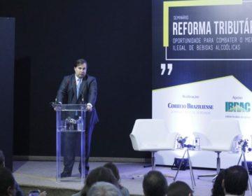 Comprometimento do Congresso com a reforma tributária é absoluto, diz Rodrigo Maia