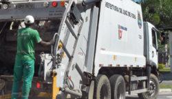 Coleta de lixo é suspensa durante a terça-feira de carnaval
