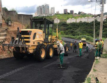 Prefeitura programa asfaltamento em mais de 50 ruas até o final do ano