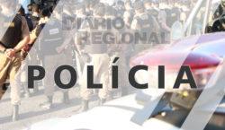PM encontra armas de fogo armazenadas em residência no São…