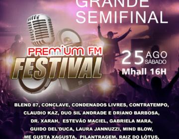 Participe da semifinal do Premium FM Festival
