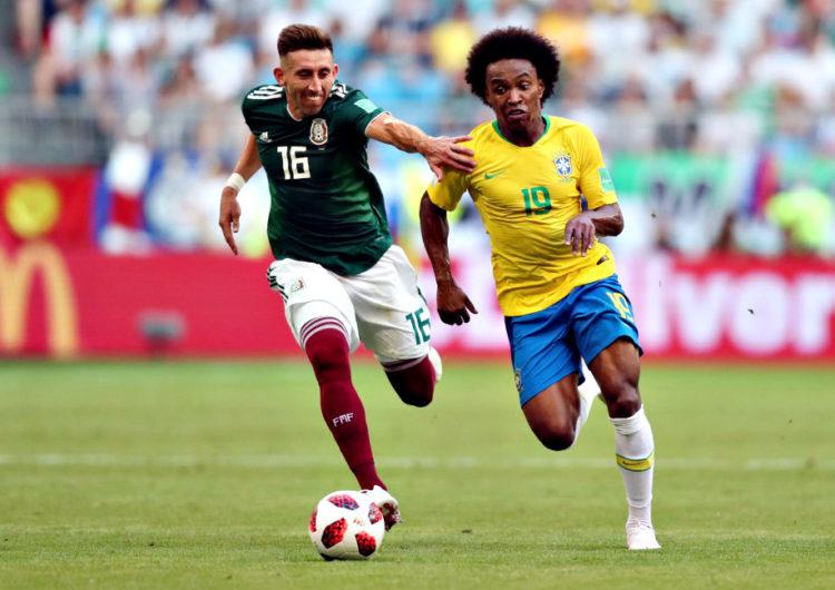 Brasil vence o México e avança ás quartas de final na Copa do Mundo