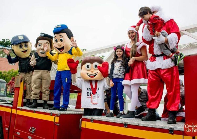 """""""Comboio do Bem"""" inicia projeto para arrecadar brinquedos para crianças neste Natal"""