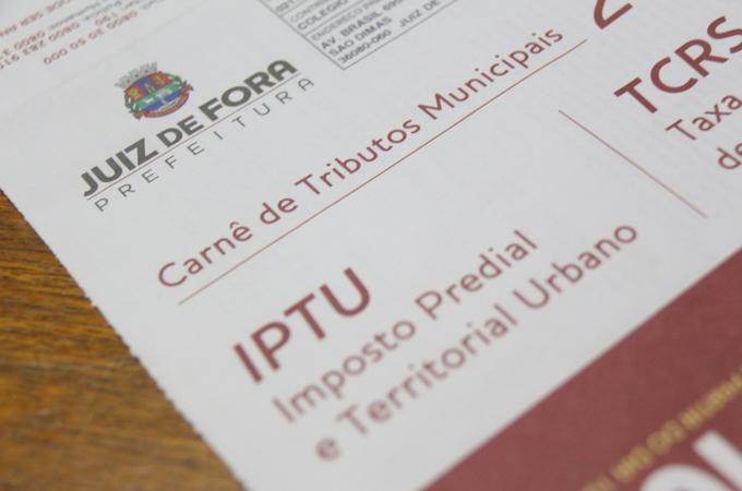 Prazo para pagamento do IPTU com desconto de 5% termina nesta quarta