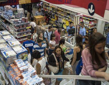 Volume do comércio varejista fecha 2018 com alta de 2,3%