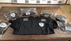 Homem acusado de vender blusa da Polícia Civil sem autorização…