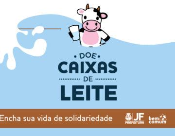 """""""Bem Comum"""" lança campanha de arrecadação de leite para a Sociedade """"Mão Amiga"""""""