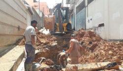 Secretaria de Obras realiza manutenção de redes de drenagem nas…