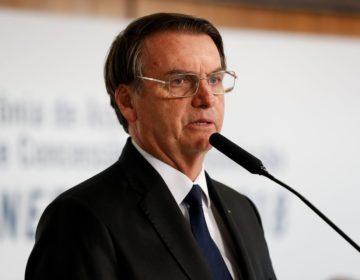 Bolsonaro faz sua primeira viagem ao Nordeste