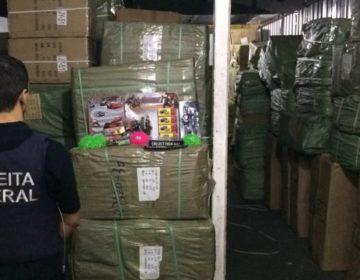 Receita registra recorde na apreensão de contrabando em 2018