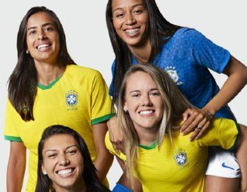 Seleção Feminina ganha novos uniformes para a Copa do Mundo