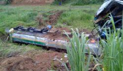 Motorista morre em acidente na BR-267 em Bicas