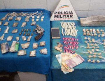 Três pessoas são detidas por envolvimento com o tráfico de drogas