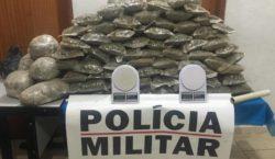 Dupla é presa com aproximadamente 30 kg de drogas em…