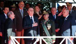 Bolsonaro diz que Exército sempre esteve ao lado da vontade…