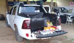 PM prende grupo suspeito de roubo de carga e estelionato