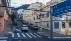 Rua Fernando Lobo será interditada para obras nesta quinta-feira