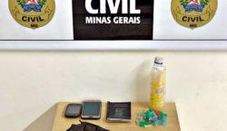 Dois homens são presos por tráfico de drogas em Ubá