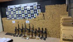Polícia Civil apreende armas e toneladas de drogas em Juiz…