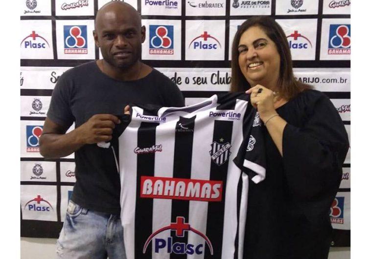 Ademilson está de volta ao Tupi para o Brasileirão