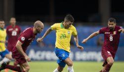 Brasil empata com a Venezuela pela segunda rodada da Copa…