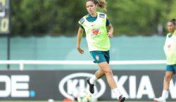 Lesionada, Érika é desconvocada da seleção feminina que disputa Copa