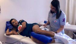 Contusão deixa Marta de fora da estreia do Brasil na Copa da França