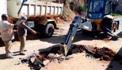 Secretaria de Obras faz manutenção em redes de drenagem de…