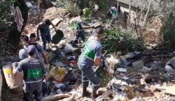 PJF retira 12 toneladas de lixo no Dom Bosco