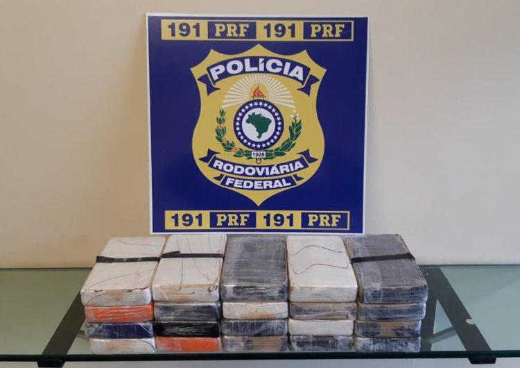 Homem é preso e drogas são apreendidas durante ação da PRF em Juiz de Fora