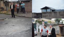 Fiscaliza JF verifica situação de rua no bairro Alto Eldorado
