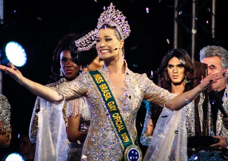 Miss Pernambuco, Antonia Gutierrez, é eleita a grande vencedora da 39ª edição do Miss Brasil Gay