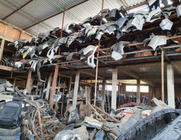 """Operação """"Mosaico"""" da Polícia Civil combate comércio clandestino de peças automotivas em Juiz de Fora e região"""