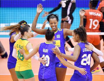Brasil supera Quênia e consegue a terceira vitória