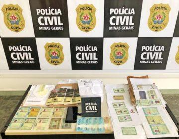 """Homem é preso durante operação """"Contramão"""" da Polícia Civil em Ubá"""