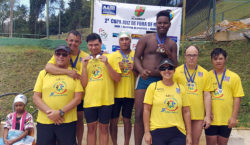 Programa JF Paralímpico participa de torneio de natação