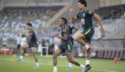 Seleção Brasileira faz treinamento em Abu Dhabi