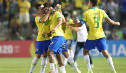 Brasil vence de virada e está na final da Copa do Mundo Sub-17