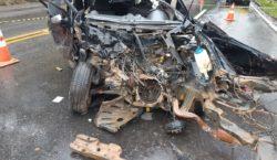 Acidente deixa vítima fatal em Santos Dumont