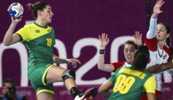 Seleção Brasileira feminina de handebol realiza último teste do ano…