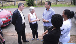Fiscaliza JF visita UBS em Chapéu D'Uvas