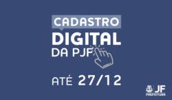Cadastro Digital – Contribuintes devem atualizar dados até dia 27…