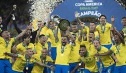 Sorteio define grupo e caminho do Brasil na Copa América…