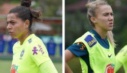 Novatas, Gabrielli e Isabella comentam chance na Seleção Principal
