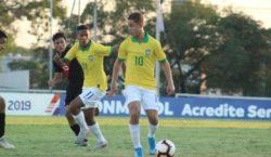 Seleção Sub-15 enfrenta Paraguai na semifinal do Sul-Americano 2019