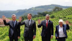 Bolsonaro passa presidência do Mercosul para o Paraguai