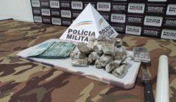 Polícia Militar encontra materiais em residência