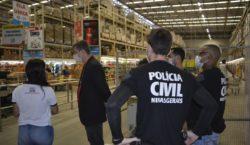 Polícia Civil de Minas Gerais e Procon realizam fiscalização em…