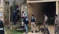Operação conjunta é deflagrada para combater furtos e tráfico em…