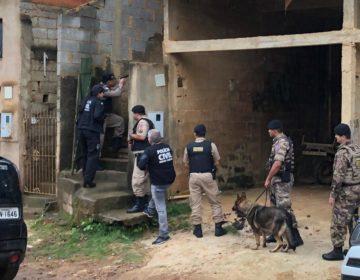 Operação conjunta é deflagrada para combater furtos e tráfico em Chácara